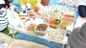 大人のピクニック テーブル
