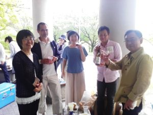 ピクニック 2016 ヴァンサン&陽子さんを囲んで